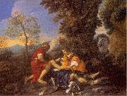 Herminia and Vafrino Tending the Wounded Tancred